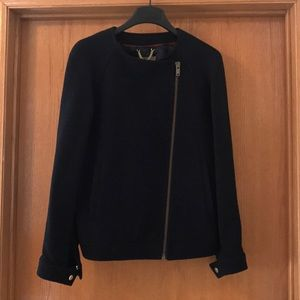 Jcrew Double Cloth Wool Jacket